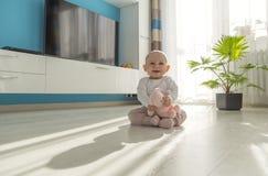 Jouer de bébé Image libre de droits