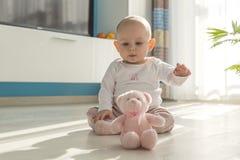 Jouer de bébé Photographie stock