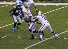 Jouer de Buffalo Bills Photographie stock libre de droits