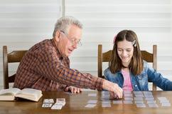 Jouer des cartes Images libres de droits