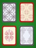 Jouer la conception de paquet de cartes Photo stock