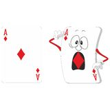 Jouer les cartes en liasse 13 illustration stock