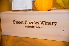 Joues douces établissement vinicole et vignoble Image libre de droits