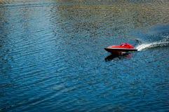 Jouet à distance de bateau Photographie stock