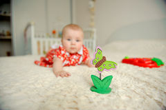 Jouet de papillon Photos libres de droits