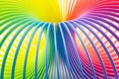 jouet coloré de source Photographie stock libre de droits