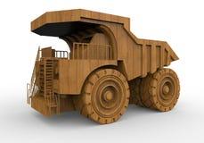 Jouet colossal de camion d'extraction illustration libre de droits
