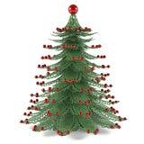 Jouet décoratif d'arbre de Noël Images stock