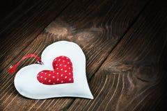 Jouet décoratif de coeur Photos stock