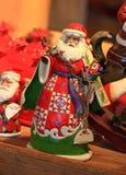 Jouet décoratif de décoration de Noël et de nouvelle année dans le rétro style Photos libres de droits