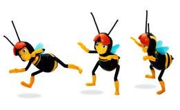 Jouet d'abeille Images libres de droits