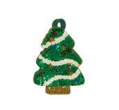 Jouet d'arbre de Noël Photographie stock libre de droits