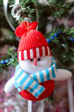 Jouet d'arbre de Noël Photos stock