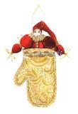 Jouet d'arbre de Noël cru Image stock