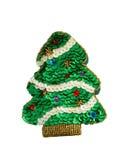 Jouet d'arbre de Noël. Souvenir fabriqué à la main Photographie stock