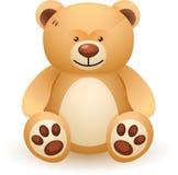 Jouet d'ours de Brown illustration libre de droits