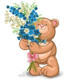 Jouet d'ours de nounours Photos libres de droits