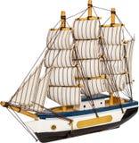 Jouet de bateau à voile Photographie stock libre de droits