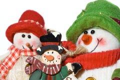 jouet de bonhommes de neige images stock