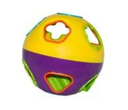 Jouet de boule de bébé Image stock