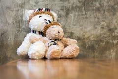 Jouet de deux ours de nounours Photos libres de droits