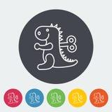 Jouet de Dinosaurus Images stock
