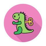 Jouet de Dinosaurus Image libre de droits