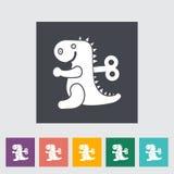 Jouet de Dinosaurus Images libres de droits