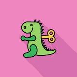Jouet de Dinosaurus Photos libres de droits