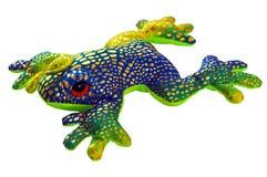 Jouet de grenouille Photo stock