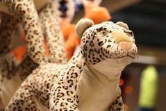 Jouet de léopard Photo libre de droits