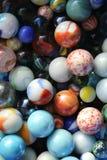 Jouet de marbre de taw pour des enfants photos stock