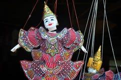 Jouet de marionnette au Cambodge Photographie stock libre de droits