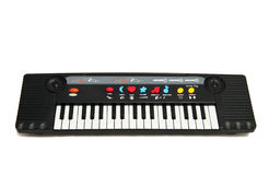 Jouet de piano de musique de chéri Photos stock