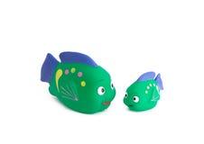 jouet de poissons Photo libre de droits