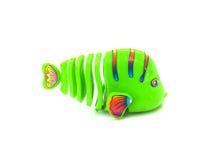 jouet de poissons sur d'isolement Photographie stock libre de droits