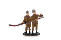 Jouet de pompiers Photo stock