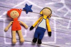 Jouet de poupée Images libres de droits