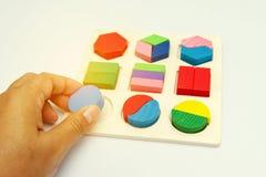 Jouet de puzzle images stock