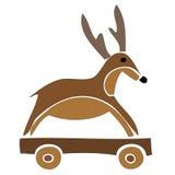 Jouet de renne. Image libre de droits