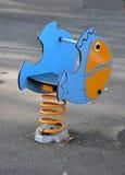 Jouet de ressort de poissons Photographie stock libre de droits