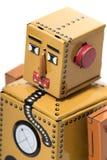 Jouet de robot de bidon de vintage Photographie stock libre de droits