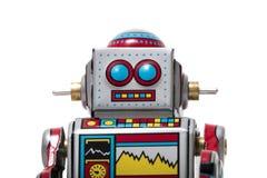 Jouet de robot de bidon de vintage Images stock