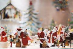 Jouet de Santa de Noël Photos libres de droits