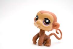 Jouet de singe photo libre de droits