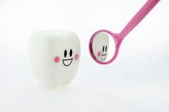 Jouet de sourire de dents photo libre de droits