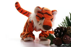 Jouet de tigre Photos libres de droits