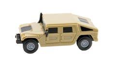 Jouet de véhicule militaire image libre de droits