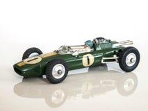 Jouet de voiture de course de vintage/modèle jouet de la Lotus-apogée Formula1 photos libres de droits