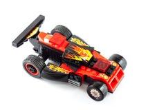 Jouet de voiture de course Image stock